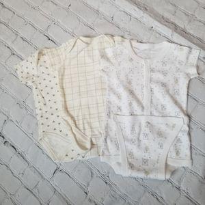 Other - 🔥5/$15🔥 3 Diaper Shirts / T-Shirts 6-9m